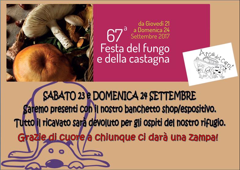 Festa del Fungo e della Castagna - Arca dei Cani