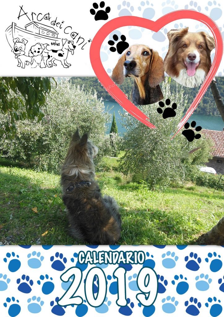 Calendario 2019 - Arca dei Cani